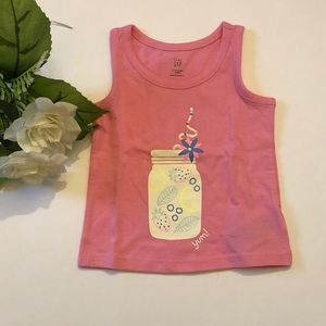 """❤️4 for $20❤️Infant Girl """"Yum"""" Tank Top"""